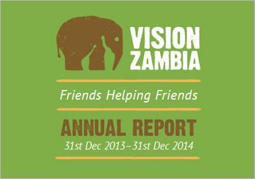 VisionZambia 2014 Annual Report