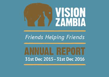 VisionZambia 2016 Annual Report