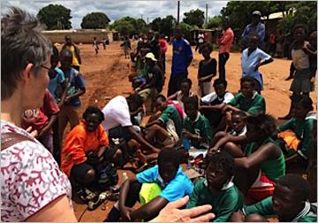 Linda girls football team – Sue's blog