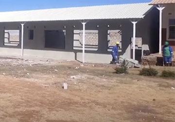 The Building project progresses well at Linda Community School, Linda