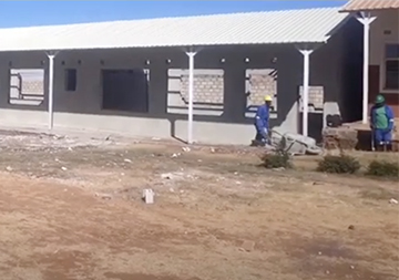 The Building project progresses well at Linda Community School, Linda
