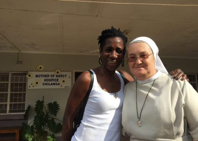 Trustee Patricia with Sister Jeremiah